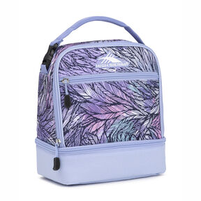 High Sierra Stacked Compartment Lunch Bag in the color Feather Spectre/Powder Blue.