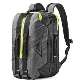 High Sierra Dells Canyon Travel Backpack in the color Mercury/Black/Glow.