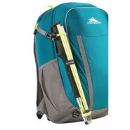 High Sierra HydraHike 24L Pack in the color Lagoon/Slate/Zest.