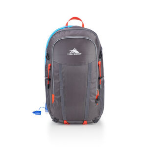 HydraHike 24L Pack in the color Mercury/Redline.