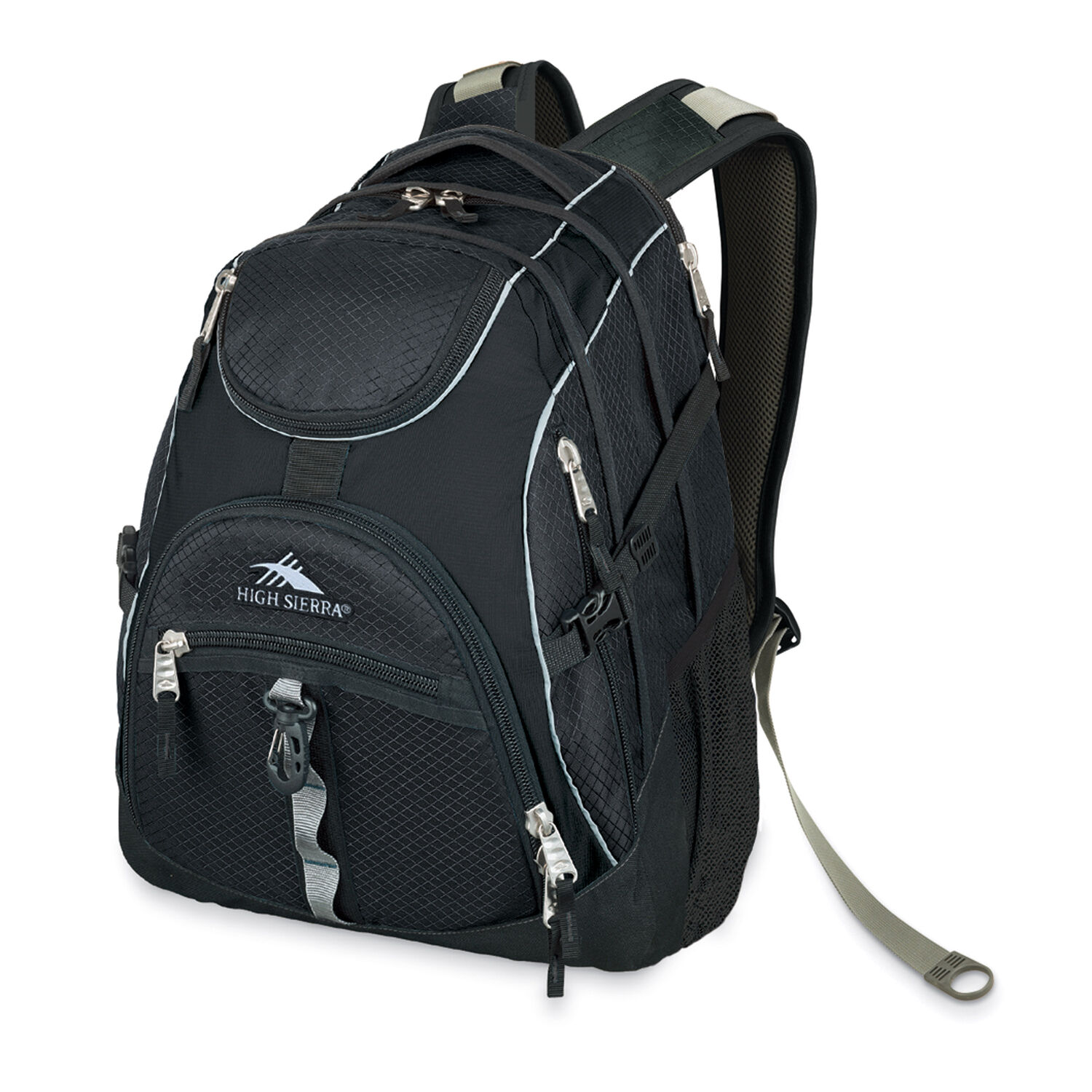 61ad1790505b High Sierra Access Backpack in the color Black Black.