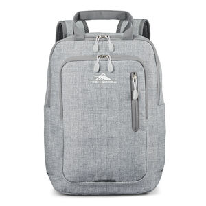 High Sierra Mindie Pro Backpack in the color Silver Heather.
