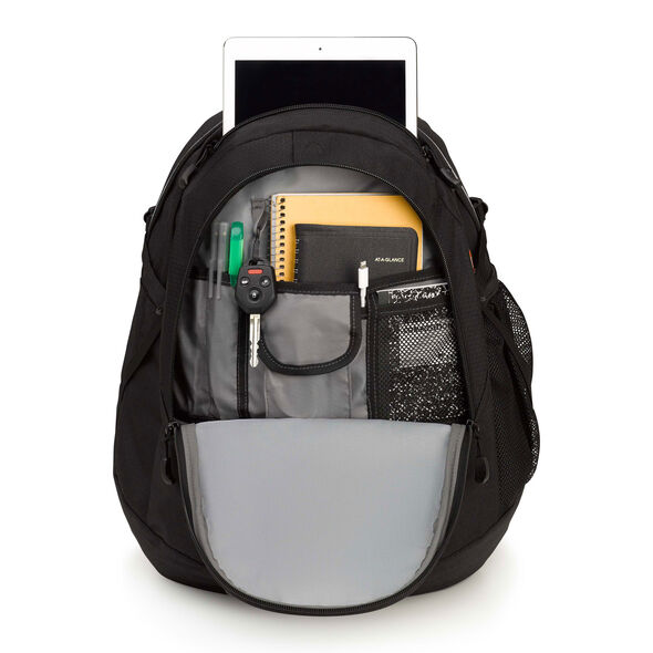 High Sierra Fat Boy Backpack in the color Black.