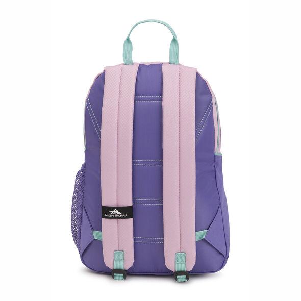 High Sierra Mini Loop Backpack in the color Iced Lilac/Lavender/Aquamarine.