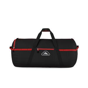 "Packed Cargo Duffles 30"" Medium Duffel in the color Black/Crimson Red."