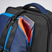 """High Sierra Dells Canyon 22"""" Upright in the color True Navy/Black/Sports Blue."""
