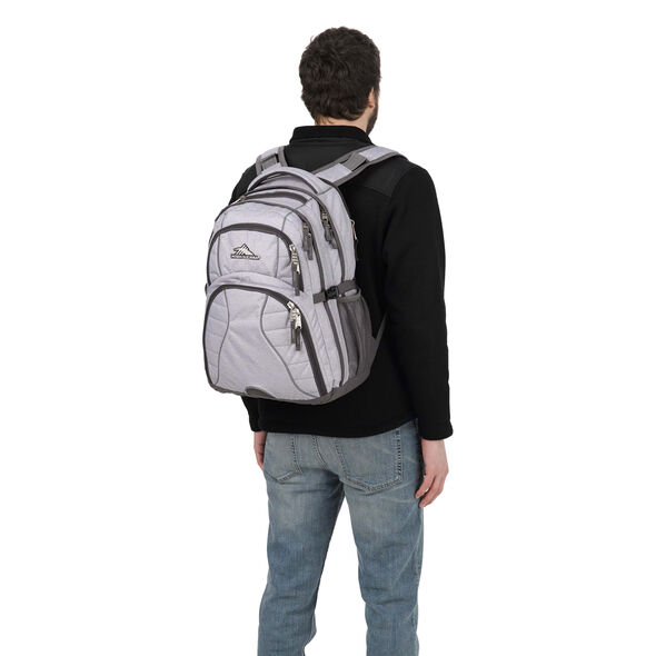 High Sierra Swerve Backpack in the color Jersey Knit/Slate.
