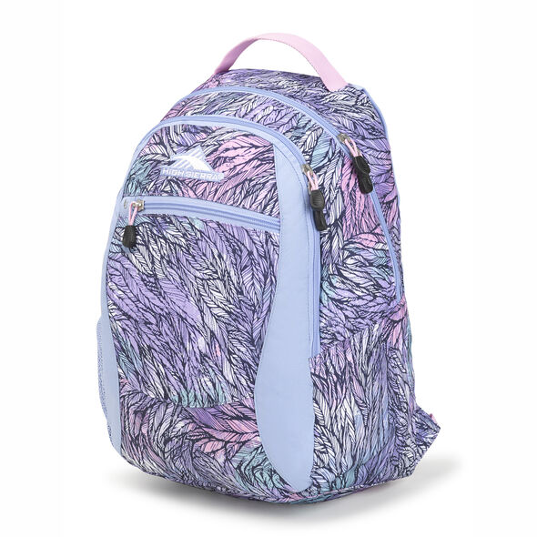 High Sierra Curve Backpack in the color Feather Spectre/Powder Blue.