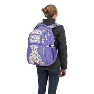 High Sierra Swerve Backpack in the color Sweet Cakes/ Lavender/White.