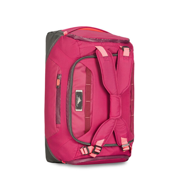 """High Sierra AT8 26"""" Duffel Backpack in the color Dahilia Raven."""