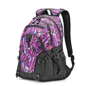 High Sierra Loop Backpack in the color Rainforest/Black.