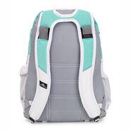 High Sierra Loop Backpack in the color Aquamarine/Ash/White.