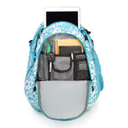 High Sierra Fatboy Backpack in the color Tropic Leopard/Tropic Teal.