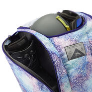 High Sierra Trapezoid Boot Bag in the color Flower Daze/Deep Purple.