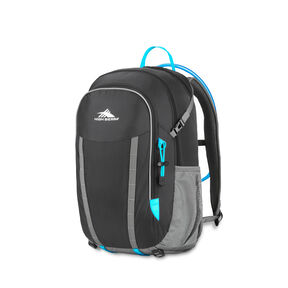 High Sierra HydraHike 24L Pack in the color Black/Slate/Pool.