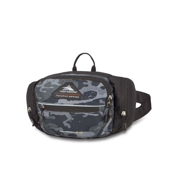 High Sierra Tokopah 3L Waistpack in the color Camo/Black.