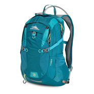 High Sierra Vimba Hydration Pack in the color Sea/ Tropic Teal/ Zest.