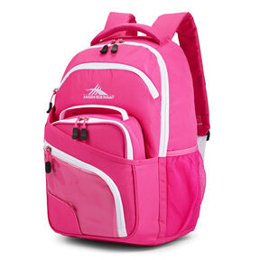 High Sierra Wiggie Lunch Kit Backpack in the color Candy Pink/White.