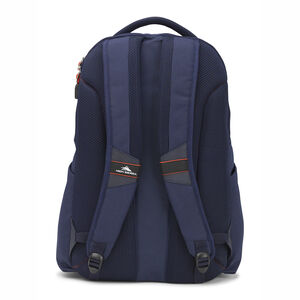 Autry Backpack in the color Maritime/Redline.