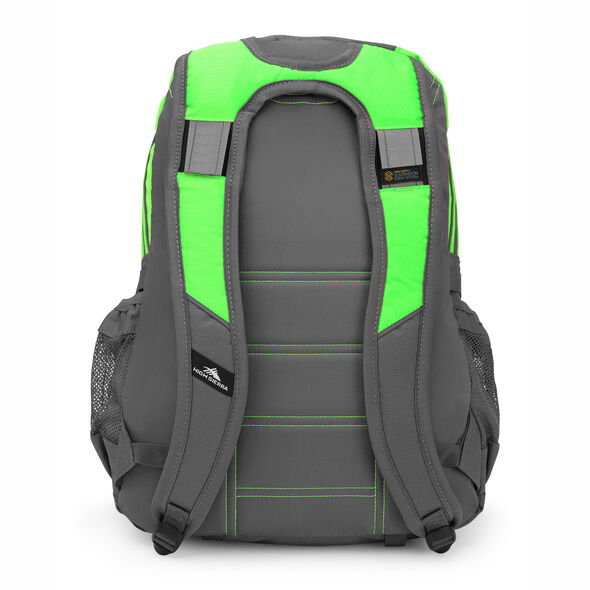 High Sierra Loop Backpack in the color Lime/ Slate.