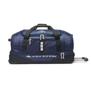 "Pathway 28"" Wheeled Drop-Bottom Duffel in the color Maritime/Black/Ash."