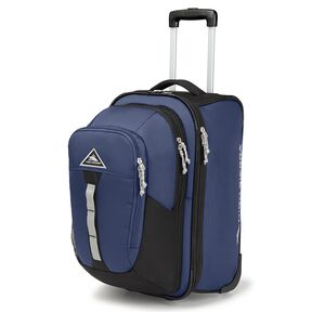 High Sierra Pathway Carry-On Wheeled Upright With Removable Daypack in the color Maritime/Black/Ash.