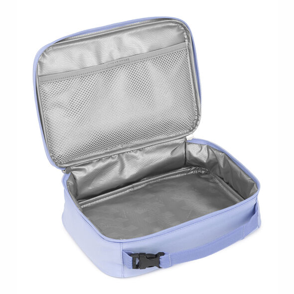 High Sierra Single Compartment Lunch Bag in the color Feather Spectre/Powder Blue.