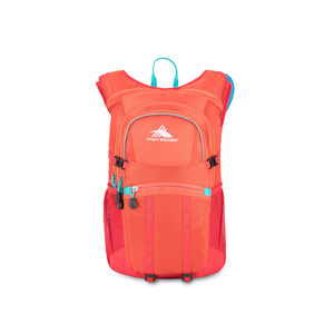 HydraHike 20L Pack in the color Redline/Crimson/Turqoise.