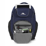 High Sierra Powerglide Wheeled Backpack in the color True Navy/Black.