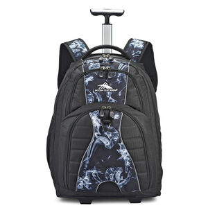 Freewheel Wheeled Backpack in the color Black Steam/Black.
