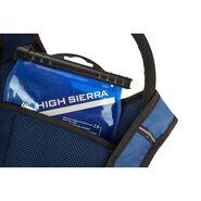 High Sierra Tokopah 4L Hydration Pack in the color Pilot/Atlantic/Crimson.
