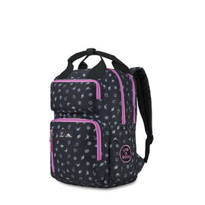 Life Is Good by High Sierra Mindie Backpack in the color Black/Happy Grape Nature.