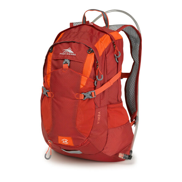 High Sierra Vimba Hydration Pack in the color Carmine/Redline.