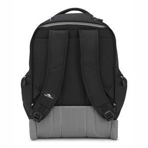 Powerglide Wheeled Backpack in the color Black/Black.