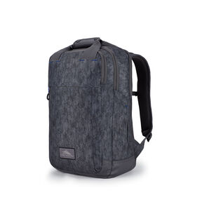 High Sierra Everyday Grab Handle Backpack in the color Fabric Tex/Slate.