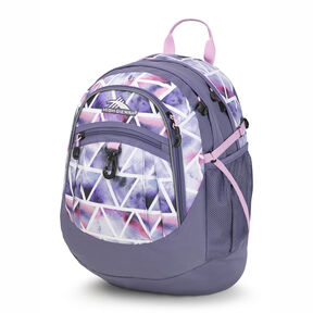 High Sierra Fatboy Backpack in the color Dreamscape/Purple Smoke.