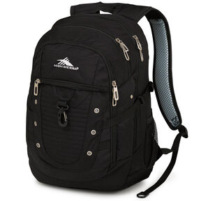 High Sierra Tactic Backpack in the color Black.