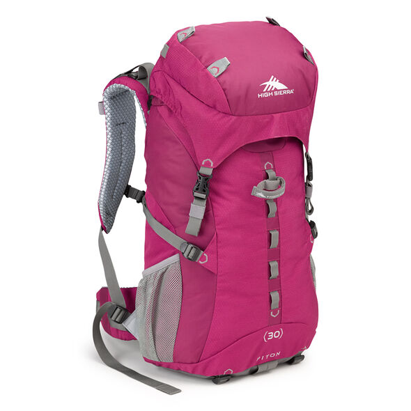 High Sierra Classic 2 Series Piton 30W Frame Pack in the color Boysenberry/Ash.