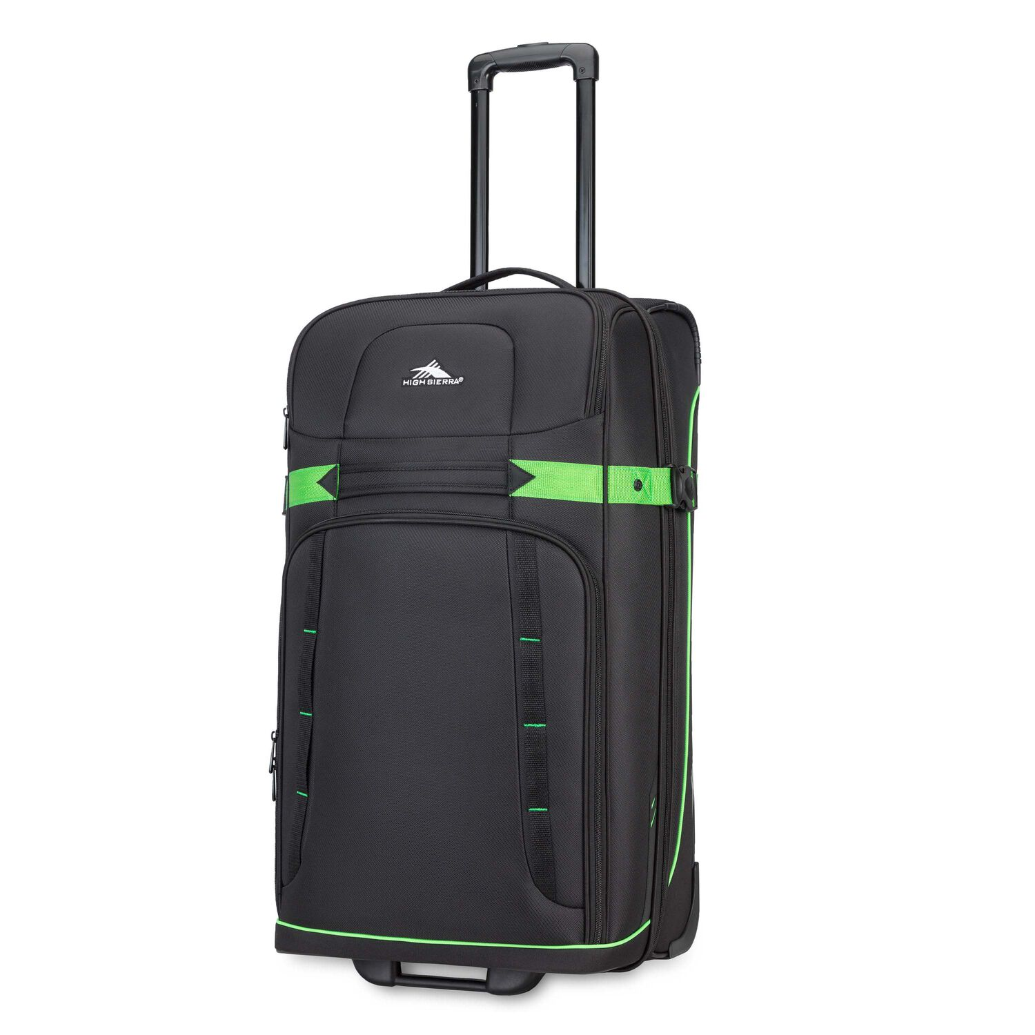 """High Sierra Evanston 29"""" Upright in the color Black/Lime Green."""