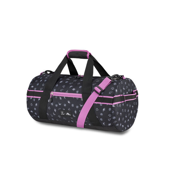 Life Is Good Cargo Duffel Nature in the color Black/Happy Grape Nature.
