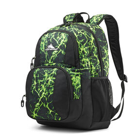High Sierra Pinova Backpack in the color Lime Fire/Black.
