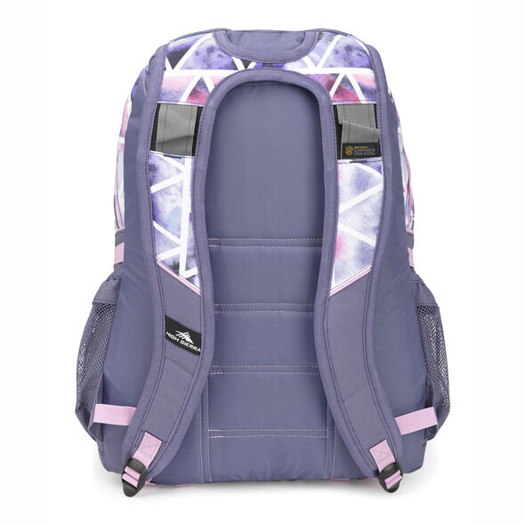 High Sierra Loop Backpack in the color Dreamscape/Purple Smoke.