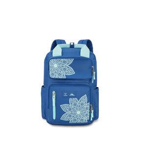 Life Is Good by High Sierra Mindie Backpack in the color Vintage Blue/Bermuda Blue Mandala.
