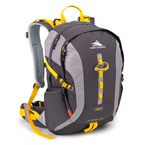 High Sierra Classic 2 Series Cirque 30L Framepack in the color Mercury/Ash/Yellow.