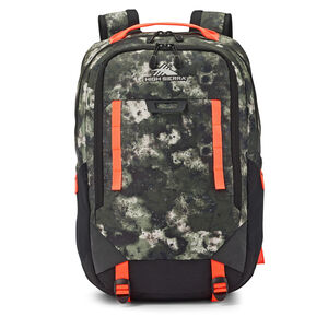 High Sierra Litmus Backpack in the color Urban Camo.
