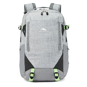 Takeover Backpack in the color Silver Heather/Neo Mint.
