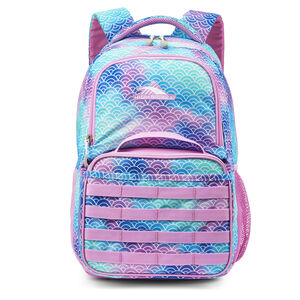 Joel Lunch Kit Backpack in the color Rainbow Scales.