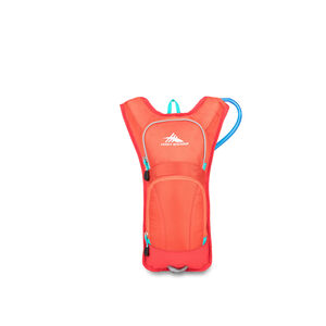 HydraHike 4L Pack in the color Redline/Crimson/Turqoise.