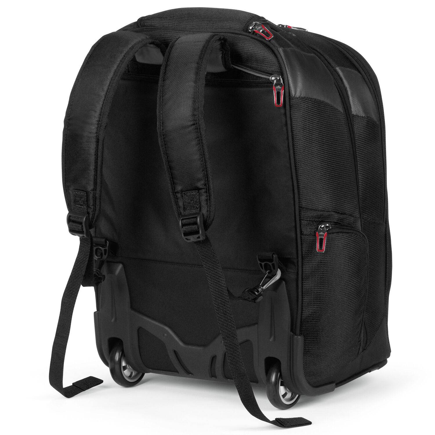 High Sierra At7 Wheeled Computer Backpack In The Color Black
