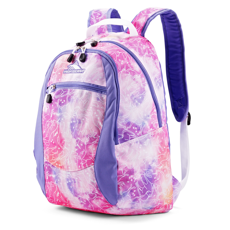 High Sierra Curve Backpacks (4 color options)